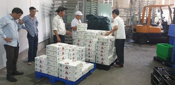 2 tấn vải thiều đầu tiên xuất sang Nhật tiêu thụ hết trong 1 ngày