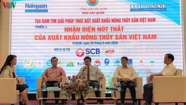 Đẩy mạnh xuất khẩu nông thủy sản Việt bằng chất lượng và thương hiệu