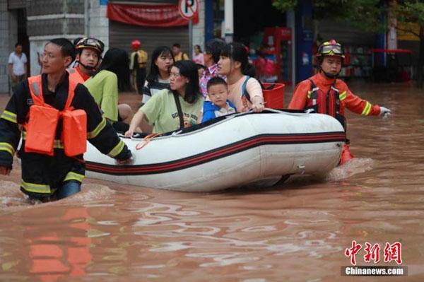 Mưa lũ ở miền Nam Trung Quốc làm 78 người thiệt mạng và mất tích