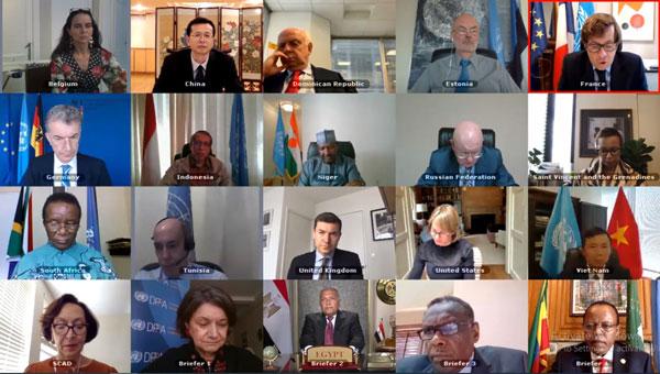 Hội đồng Bảo an thảo luận về tình hình đập Đại Phục Hưng Ethiopia