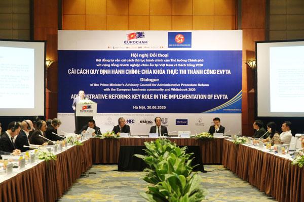Hội nghị đối thoại với các DN châu Âu tại Việt Nam
