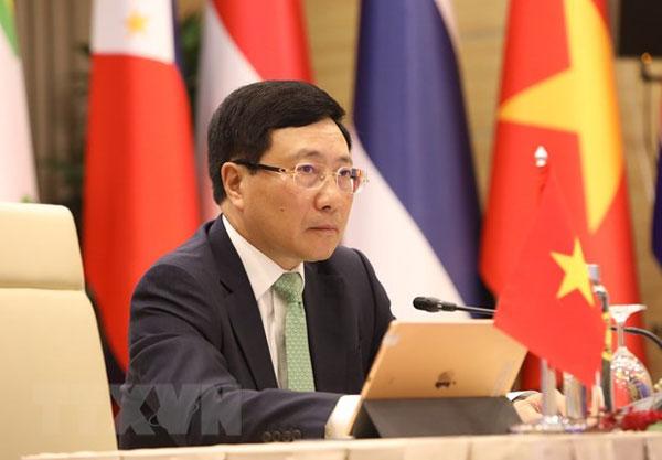 Nhật Bản và Việt Nam đồng chủ trì Hội nghị Bộ trưởng Mekong-Nhật Bản
