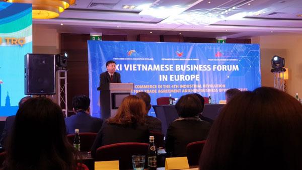 Doanh nghiệp Việt kiều châu Âu với cơ hội EVFTA chính thức khai mở