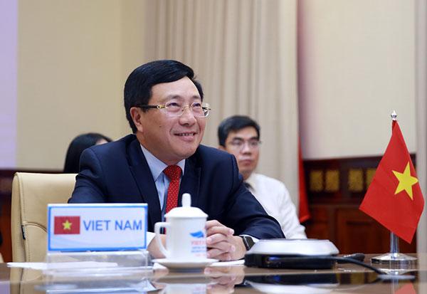 Phó Thủ tướng Phạm Bình Minh đồng chủ trì Hội nghị Bộ trưởng Ngoại giao Mekong-Nhật Bản