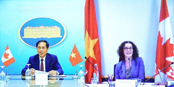 Tham vấn chính trị Việt Nam - Canada theo hình thức trực tuyến