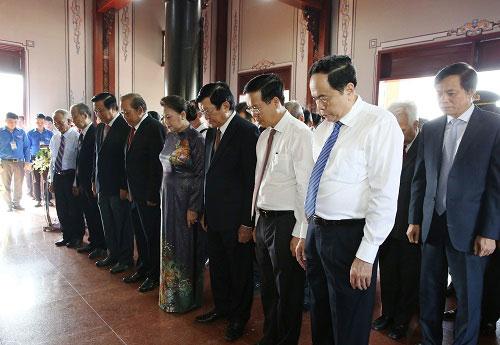 Kỷ niệm 110 năm ngày sinh đồng chí Nguyễn Hữu Thọ