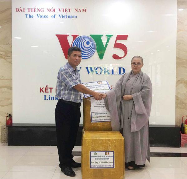 Phật tử Việt Nam tại Hàn Quốc tặng 10.000 khẩu trang cho kiều bào San Francisco, Hoa Kỳ