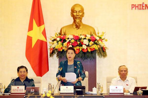 Khai mạc Phiên họp thứ 46 của Ủy ban Thường vụ Quốc hội