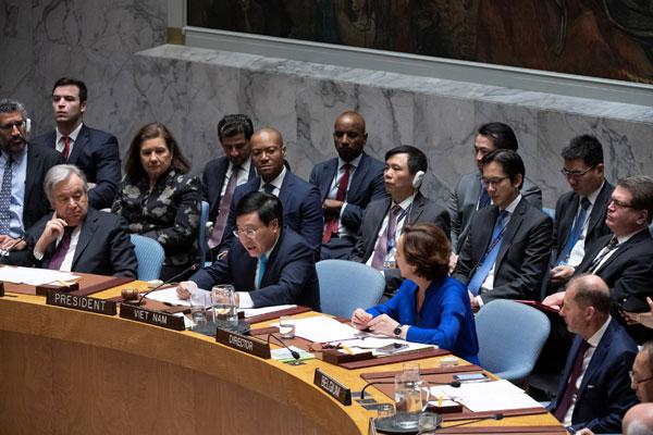 Việt Nam đảm nhiệm tốt vai trò Ủy viên không thường trực HĐBA