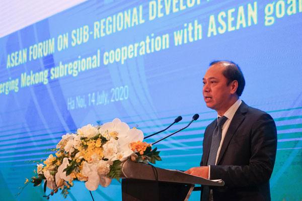 """Diễn đàn ASEAN về phát triển tiểu vùng: """"Gắn kết hợp tác Mê Công với các mục tiêu của ASEAN"""""""