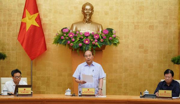 Thủ tướng: Chủ động chống dịch, không để dịch lây lan, bùng phát