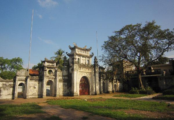 Ngôi chùa cổ và di tích kháng chiến chùa Bối Khê