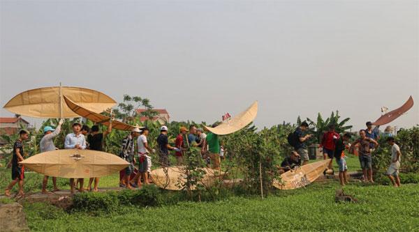 Giữ gìn hồn quê đất Việt ở làng làm diều Bá Dương Nội