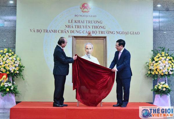 Thủ tướng khai trương Nhà Truyền thống của Bộ Ngoại giao