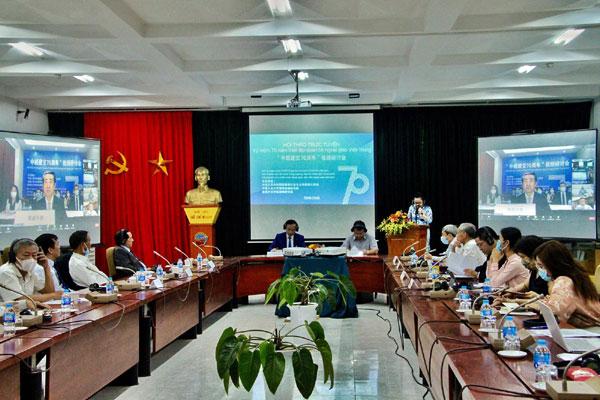 Hội thảo Trực tuyến kỷ niệm 70 năm thiết lập quan hệ ngoại giao Việt Nam – Trung Quốc