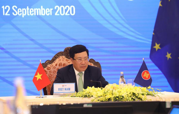 Các Hội nghị Bộ trưởng Ngoại giao ASEAN - Ấn Độ và ASEAN - EU