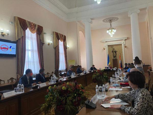 Thúc đẩy thành lập Trung tâm ASEAN tại Đại học quốc gia Kyiv mang tên Taras Shevchenko
