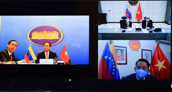 Tham khảo chính trị Việt Nam - Venezuela