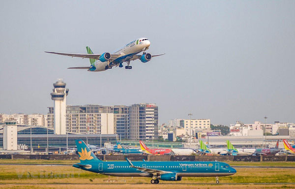 Nối lại đường bay quốc tế có tạo