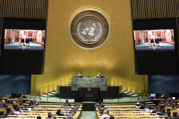Tổng Bí thư, Chủ tịch nước Nguyễn Phú Trọng gửi thông điệp đến Phiên thảo luận chung Cấp cao Khóa 75 Đại hội đồng Liên hợp quốc