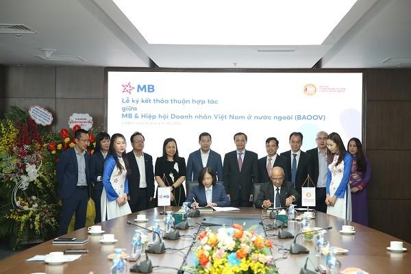 BAOOV và MB đồng hành hỗ trợ kiều bào và các doanh nghiệp trong nước