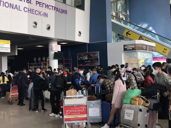 Đưa hơn 270 công dân Việt Nam từ Nga về nước