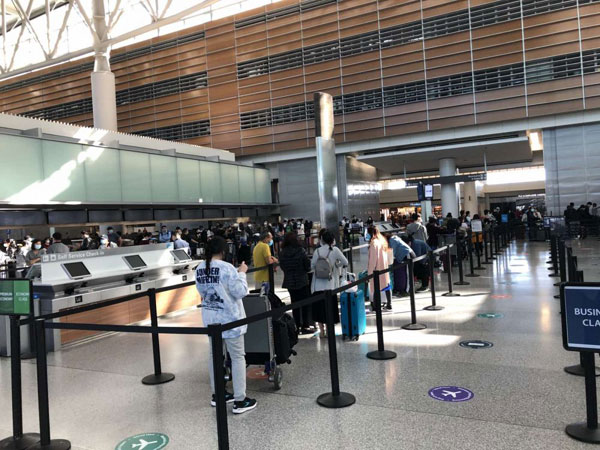 Hơn 350 công dân Việt Nam từ Hoa Kỳ và Nhật Bản về đến sân bay Vân Đồn an toàn