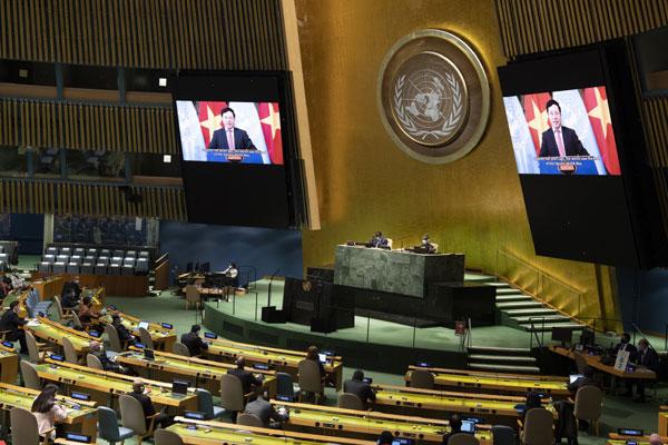 Phó Thủ tướng, Bộ trưởng Ngoại giao Phạm Bình Minh gửi thông điệp tại Phiên Cấp cao kỷ niệm Ngày Quốc tế về Xóa bỏ hoàn toàn Vũ khí hạt nhân
