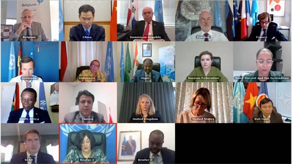 Hội đồng Bảo an họp về tình hình an ninh ở miền Đông CHDC Congo
