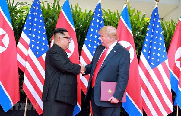 Tổng thống Trump ca ngợi ông Kim Jong-un là nhà lãnh đạo