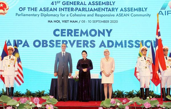 Các nước chúc mừng Việt Nam tổ chức thành công Đại hội đồng AIPA 41
