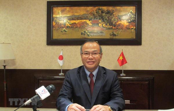 Đại sứ Vũ Hồng Nam đánh giá cao quan hệ hợp tác Việt Nam-Nhật Bản