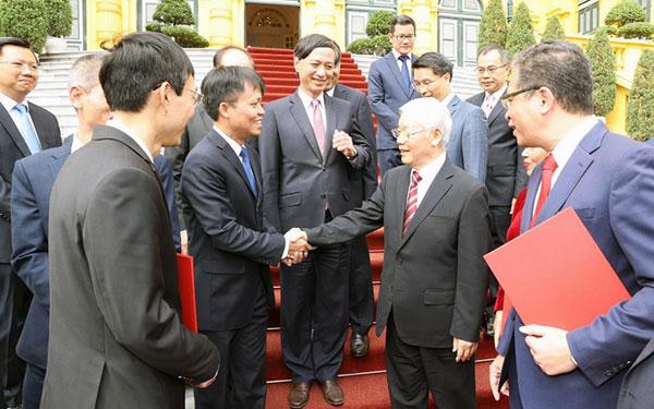Tổng Bí thư, Chủ tịch nước Nguyễn Phú Trọng trao quyết định bổ nhiệm; tiếp các đại sứ, trưởng cơ quan đại diện Việt Nam tại nước ngoài