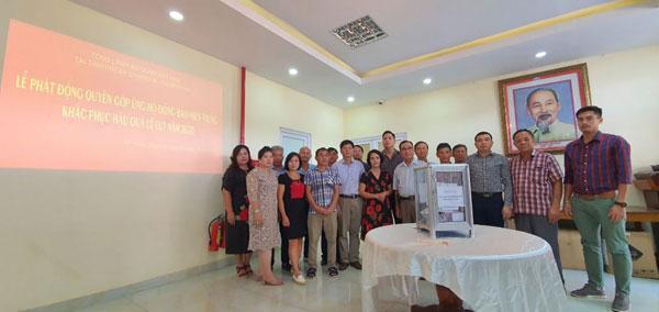 Tổng Lãnh sự quán Việt Nam tại Preah Sihanouk phát động quyên góp ủng hộ đồng bào vùng lũ lụt miền Trung