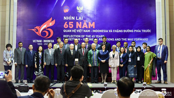 """Hội thảo: """"Nhìn lại 65 năm quan hệ Việt Nam – Indonesia và chặng đường phía trước"""""""