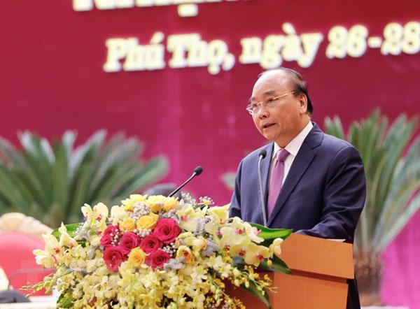 Thủ tướng Nguyễn Xuân Phúc: Đưa Phú Thọ trở thành tỉnh tiên tiến