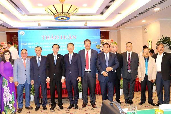 Phát huy sức mạnh cộng đồng doanh nghiệp kiều bào vì sự phát triển của Thành phố Hồ Chí Minh