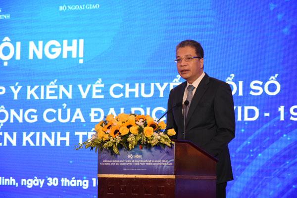 Khai mạc Hội nghị Kiều bào đóng góp ý kiến về Chuyển đổi số và khắc phục tác động của đại dịch COVID-19 để phát triển kinh tế Việt Nam