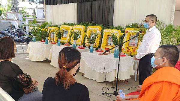 Đưa các nạn nhân tai nạn giao thông tại Campuchia về với gia đình