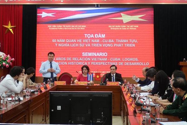 Quan hệ Việt Nam-Cuba không ngừng được củng cố và phát triển