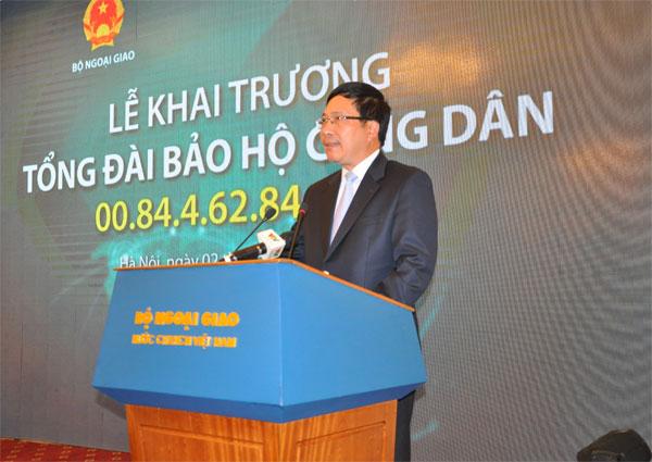Bảo hộ công dân Việt Nam ở nước ngoài