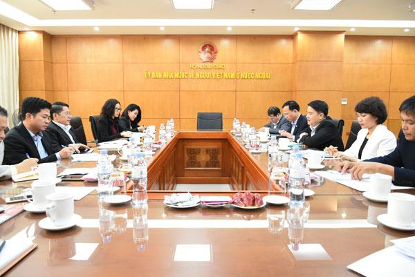 Ủy ban Nhà nước về NVNONN làm việc với Ủy ban Nhân dân tỉnh Quảng Nam