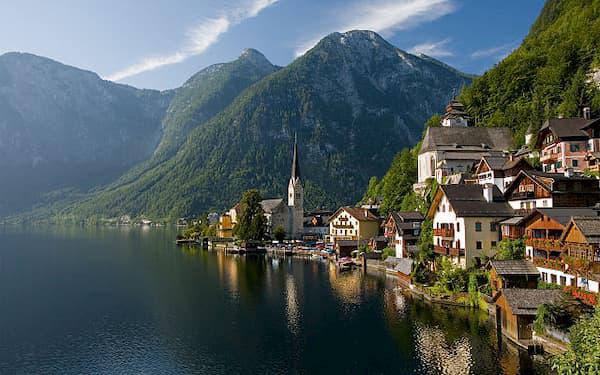 Hallstatt – thị trấn 7000 năm tuổi bên hồ ở Áo