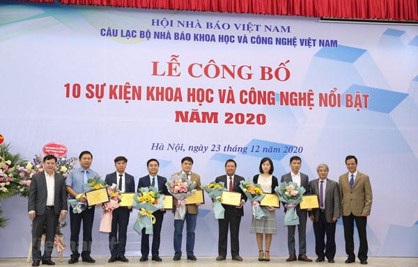Công bố 10 sự kiện khoa học công nghệ nổi bật trong năm 2020