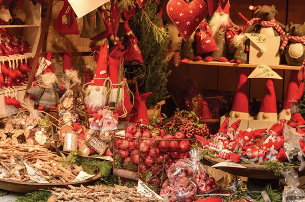 Thị trấn Giáng sinh Valkenburg