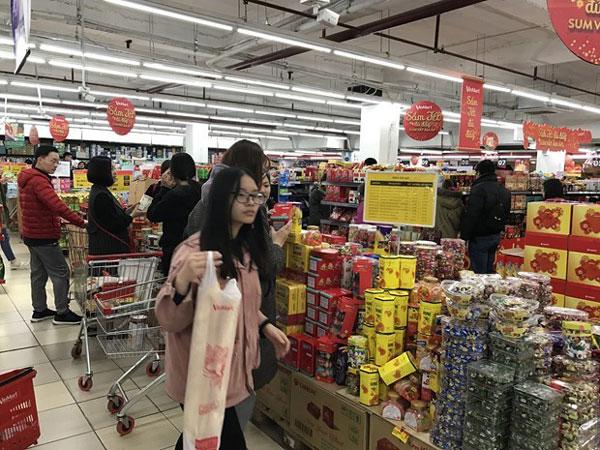 Hà Nội: Gần 40.000 tỷ đồng dự trữ lượng hàng hóa phục vụ Tết