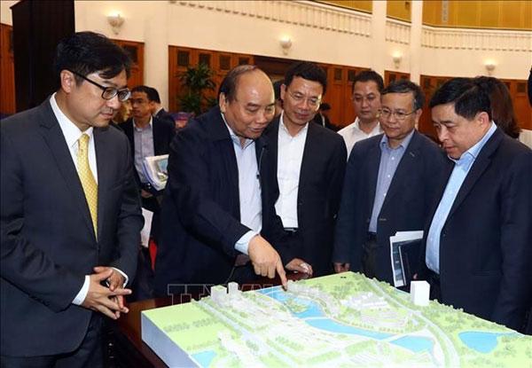 Khởi công Dự án xây dựng Trung tâm Đổi mới sáng tạo Quốc gia và Khai mạc Triển lãm VIIE 2021