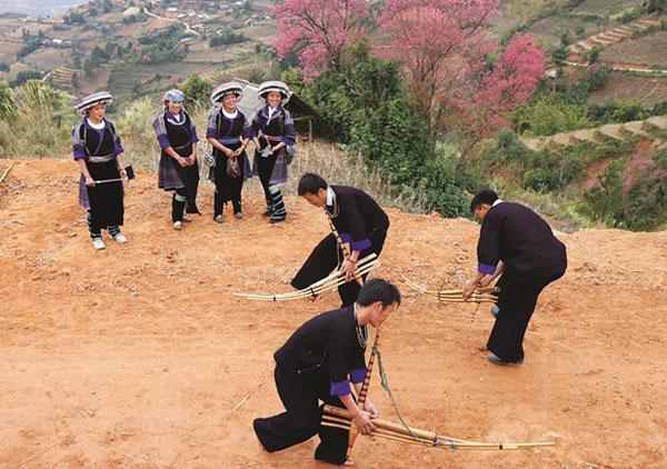 Khèn trong văn hóa của người Mông ở Mù Cang Chải