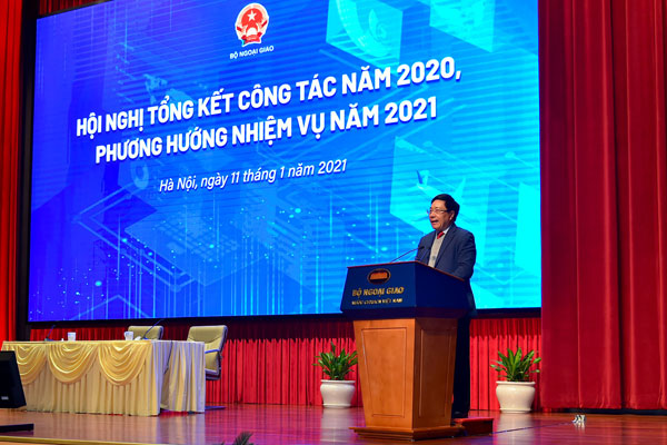 Bộ Ngoại giao tổ chức Hội nghị Tổng kết công tác năm 2020