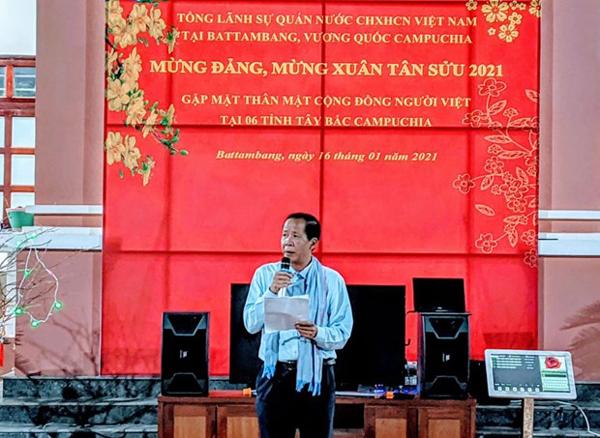 Tết Cộng đồng đầm ấm của người gốc Việt tại 6 tỉnh Tây Bắc Campuchia